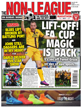 The Non-League Football Paper 16th October 2016