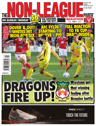 The Non-League Football Paper 23rd October 2016