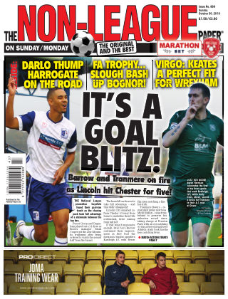 The Non-League Football Paper 30th October 2016