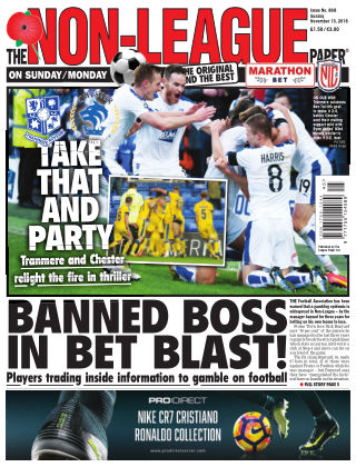 The Non-League Football Paper 13th November 2016