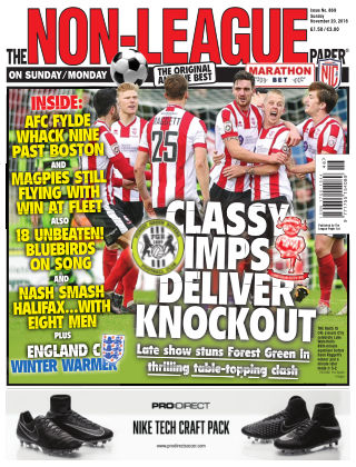 The Non-League Football Paper 20th November 2016