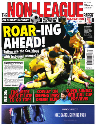 The Non-League Football Paper 4th December 2016