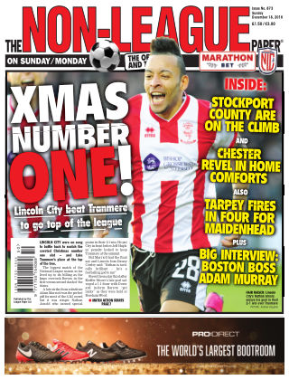 The Non-League Football Paper 18th December 2016