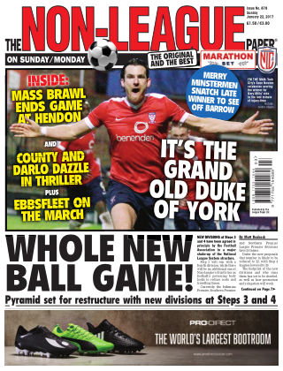 The Non-League Football Paper 22nd January 2017