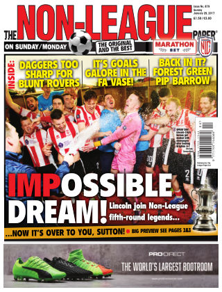 The Non-League Football Paper 29th January 2017