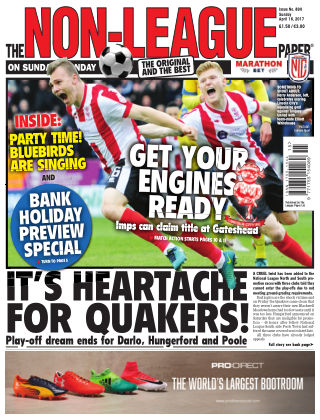 The Non-League Football Paper 16th April 2017