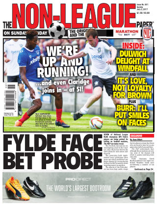 The Non-League Football Paper 2nd July 2017