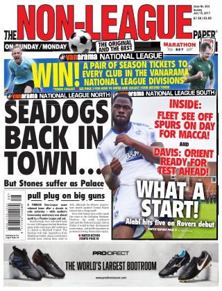 The Non-League Football Paper 16th July 2017