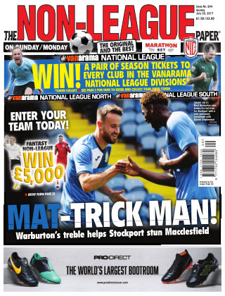 The Non-League Football Paper 23rd July 2017