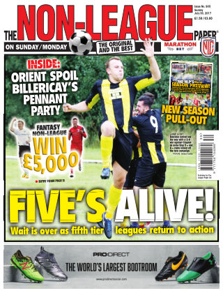 The Non-League Football Paper 30st July 2017