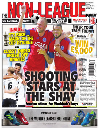 The Non-League Football Paper 6th August 2017