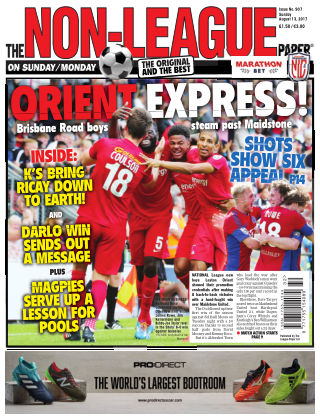 The Non-League Football Paper 13th August 2017