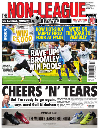 The Non-League Football Paper 20th August 2017