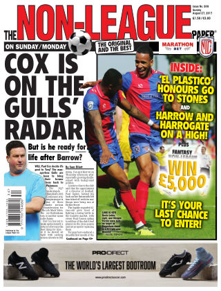 The Non-League Football Paper 27th August 2017