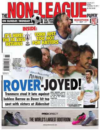 The Non-League Football Paper 10th September 2017
