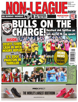 The Non-League Football Paper 15th October 2017