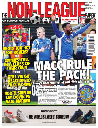 The Non-League Football Paper 22nd October 2017
