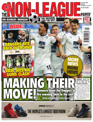 The Non-League Football Paper 12th November 2017