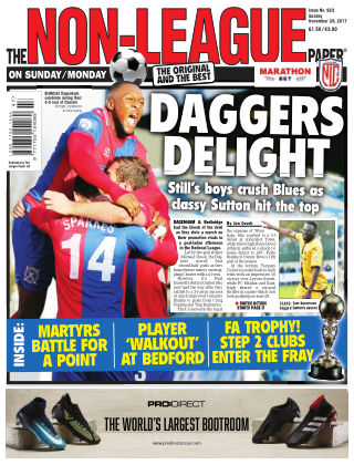 The Non-League Football Paper 26th November 2017