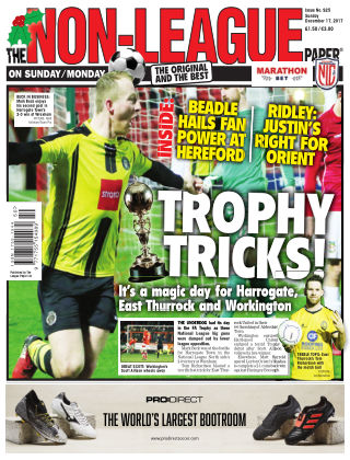 The Non-League Football Paper 17th December 2017