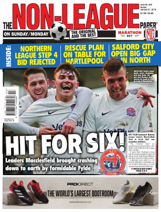 The Non-League Football Paper 21st January 2018