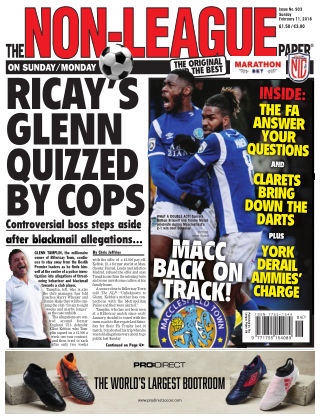 The Non-League Football Paper 11th February 2018