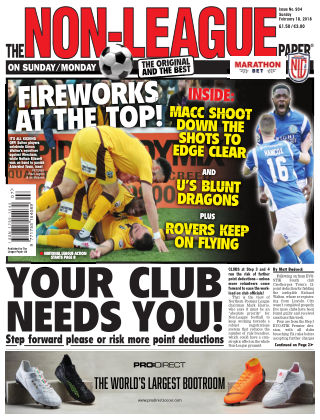 The Non-League Football Paper 18th February 2018