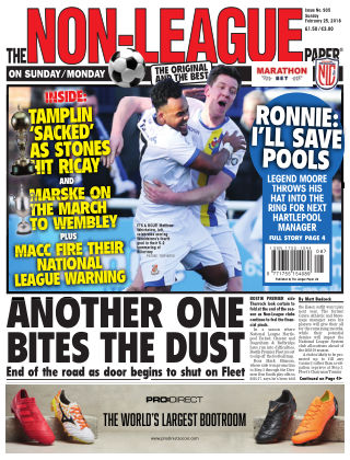 The Non-League Football Paper 25th February 2018
