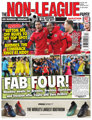 The Non-League Football Paper 25th March 2018