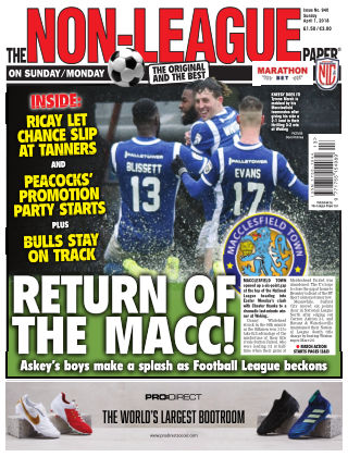 The Non-League Football Paper 1st April 2018