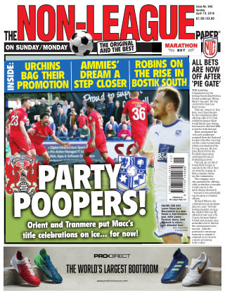 The Non-League Football Paper 15th April 2018