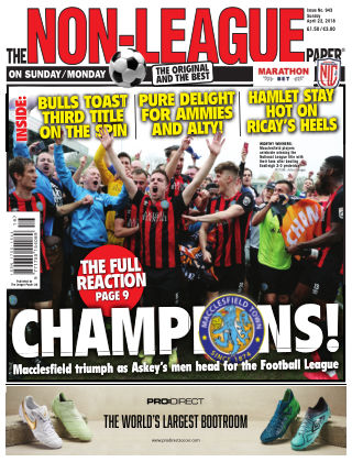 The Non-League Football Paper 22nd April 2018