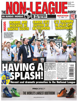 The Non-League Football Paper 29th April 2018