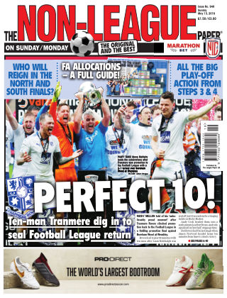 The Non-League Football Paper 13th May 2018
