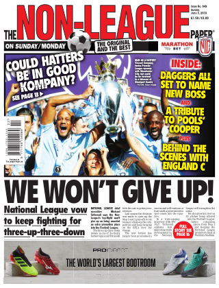 The Non-League Football Paper 3rd June 2018