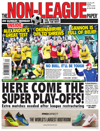 The Non-League Football Paper 17th June 2018
