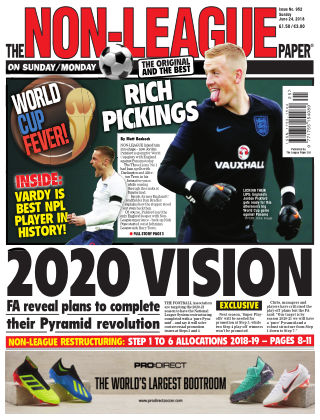 The Non-League Football Paper 24th June 2018