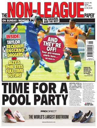 The Non-League Football Paper 1st July 2018