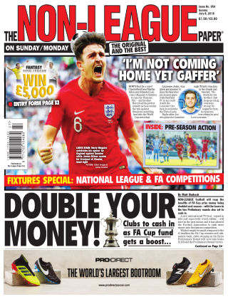 The Non-League Football Paper 8th July 2018