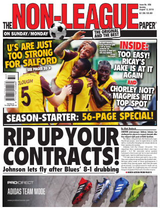 The Non-League Football Paper 12th August 2018