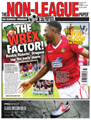 The Non-League Football Paper 19th August 2018