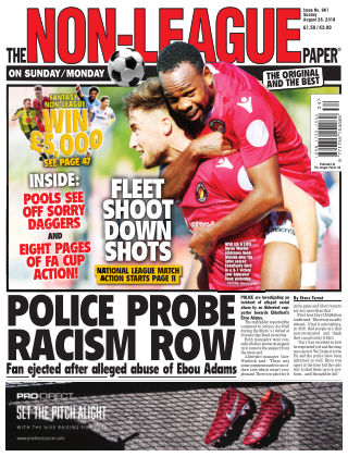 The Non-League Football Paper 26th August 2018