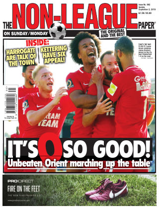 The Non-League Football Paper 2nd September 2018