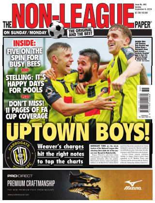 The Non-League Football Paper 9th September 2018