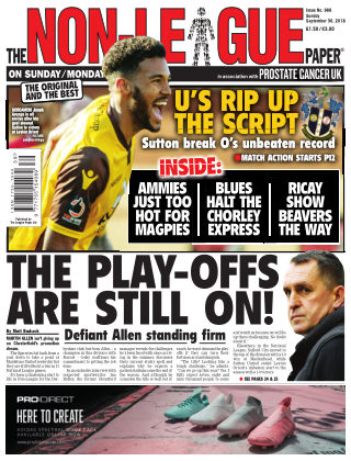 The Non-League Football Paper 30th September 2018