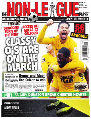 The Non-League Football Paper 7th October 2018