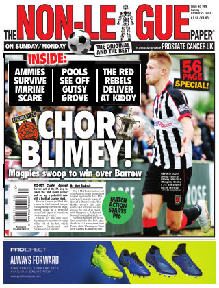 The Non-League Football Paper 21st October 2018