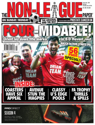 The Non-League Football Paper 28th October 2018