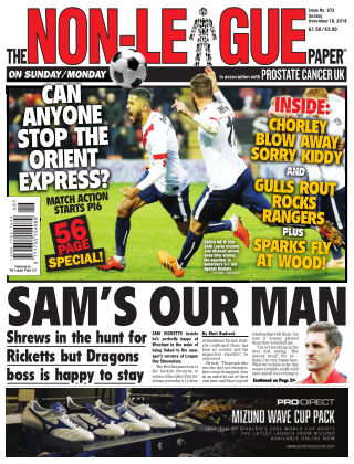 The Non-League Football Paper 18th November 2018