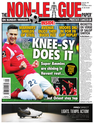 The Non-League Football Paper 2nd December 2018